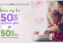 zoomin paytm  discount  cashback offer mothers day