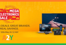 snapdeal mega electronics sale th may