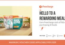 freecharge free rs freecharge credits with id food packs
