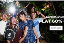 jabong jack and jones flat  off discount offer