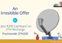 paytm dth recharges DTH