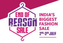 Myntra end of reason sale loot
