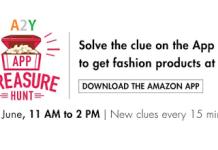 amazon app treasure hunt loot re products