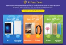 mi india re  flash deals