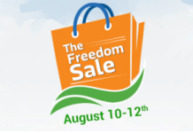 flipkart the freedom sale august