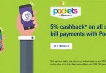 icici pockets app  cashback on utility bill payments