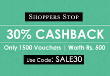 crownit shoppersstop  cashback vouchers
