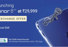 flipkart honor