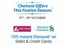 flipkart loot festive season offer