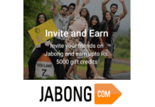 jabong refer and earn offer loot