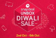 snapdeal unbox diwali sale