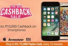the big cashback on mobiles