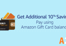 amazon additional savings