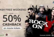 flat  Cashback on Movie Tickets paytm loot