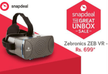 snapdeal zebronics vr