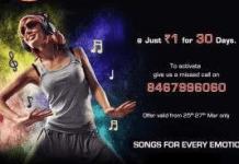 videocon kkw offer re music channel