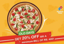 dominos pizza online olo thursday offer