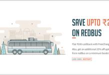 freecharge redbus loot