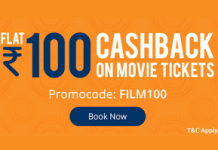 paytm movies flat loot