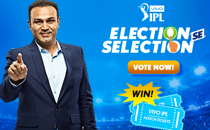 Vivo IPL Election Se Selection- Win Free Newzealand Tickets