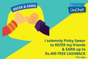 HDFC onChat Discount Offers