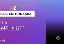 Amazon OnePlus 6T Quiz Answers