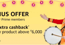 Amazon Prime Bonus Offer