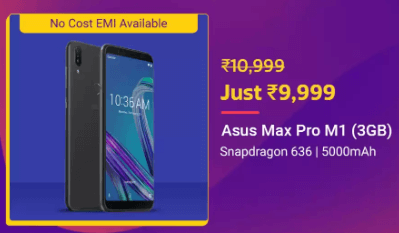 Asus Zenfone Max Pro M1 at Loot Price: