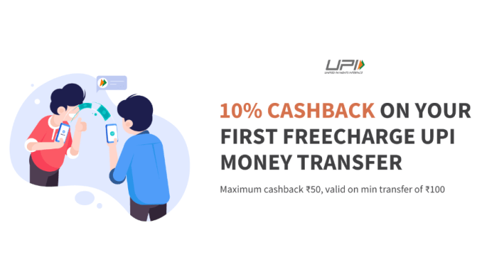 Get Rs 50 FreeCharge Balance