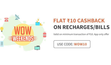 FreeCharge WOW10