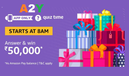 Amazon Quiz 18th January