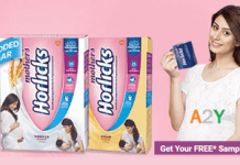 Horlicks/Ceregrow Free Samples
