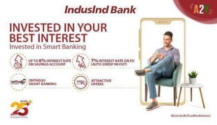 IndusInd Free Online Savings Bank