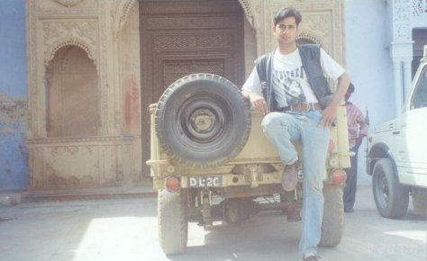 me and my old Jeep