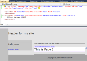 Nested Master Pages ASP.NET