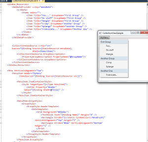 WPF Collection View