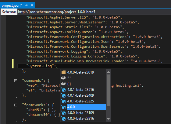 Add nuget reference manually