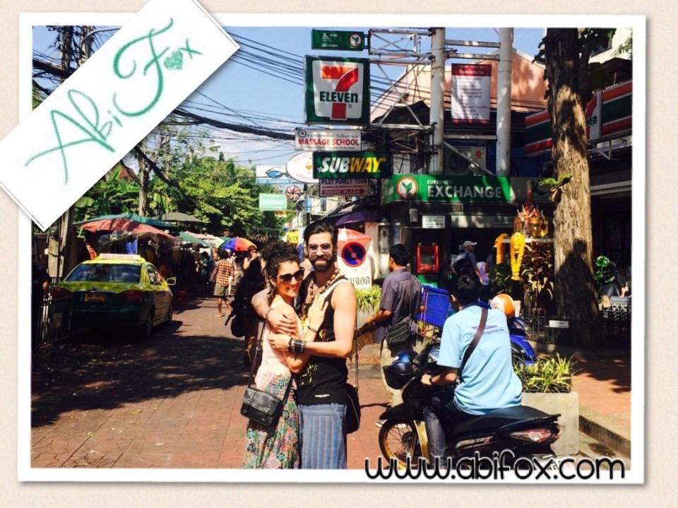 Abi fox, revitalise, Thailand, Asian adventure,