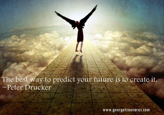 best way to predict the future is to create it, trauma to triumph, creator, life, purpose, choice