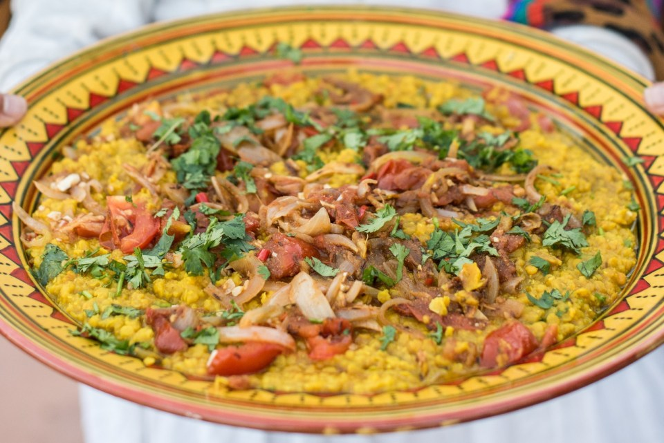 Food alchemist ibiza, abi fox, red lelntil dahl, indian food, vegan, vegetarian