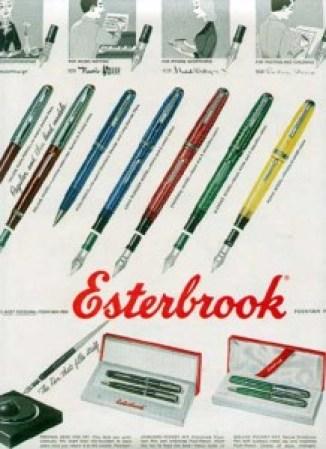 Esterbrook pen ad