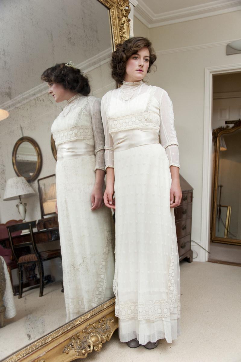 Edwardian Wedding Dresses Abigails Vintage Bridal