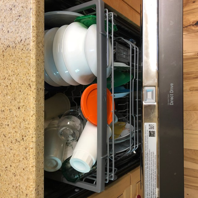 Dishwasher open