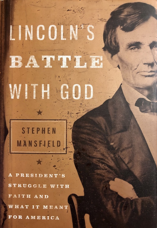 Cover of LINCOLN'S BATTLE WITH GOD