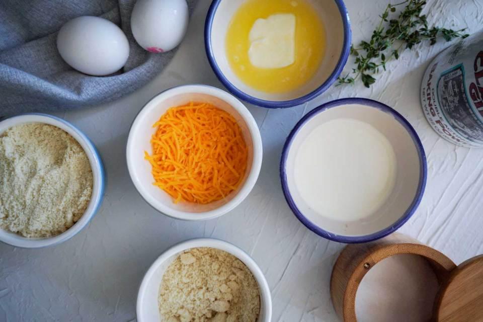 مكونات خبز الكيتو دايت