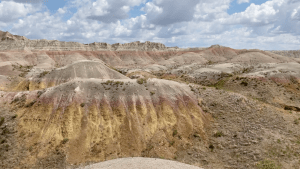 Four Views of Badlands National Park Plus One Surprise