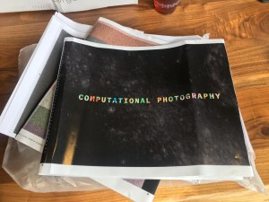 Guided Tour of My Book, <I>Computational Photography</I>: Design Principles and Dust Cover