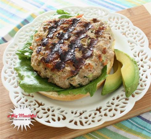 Turkey Vegetable Burger