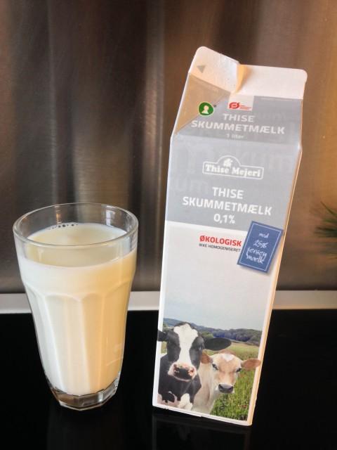 Mælk til neutralisering