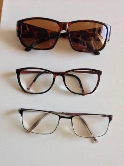 Brille sortiment solbrille, brugsbrille og skærmbrille